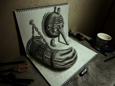 5 Unbelievable 3D Drawings – They Look So Real That You'll Try To Touch Them