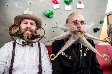 Photo Gallery From 2015 World Beard And Moustache Championships – Photos by Jan Hetfleisch