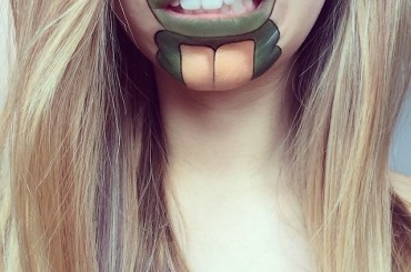 Lip Cartoon Art by Laura Jenkinson