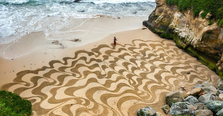 The Sand Is Magic and This Guy Is The Wizard