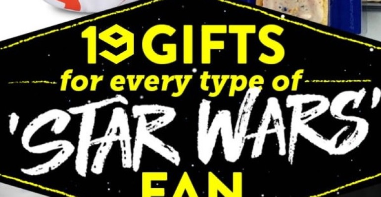 19 Gifts For Every Type of Star Wars Fan