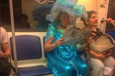 30 Types Of Weird People You'll See in Public Transportation