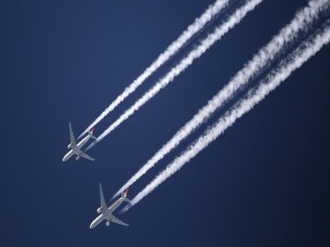 Why Do Airplanes Leave White Traces In the Sky?