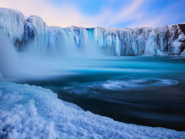 How Do Waterfalls Freeze?