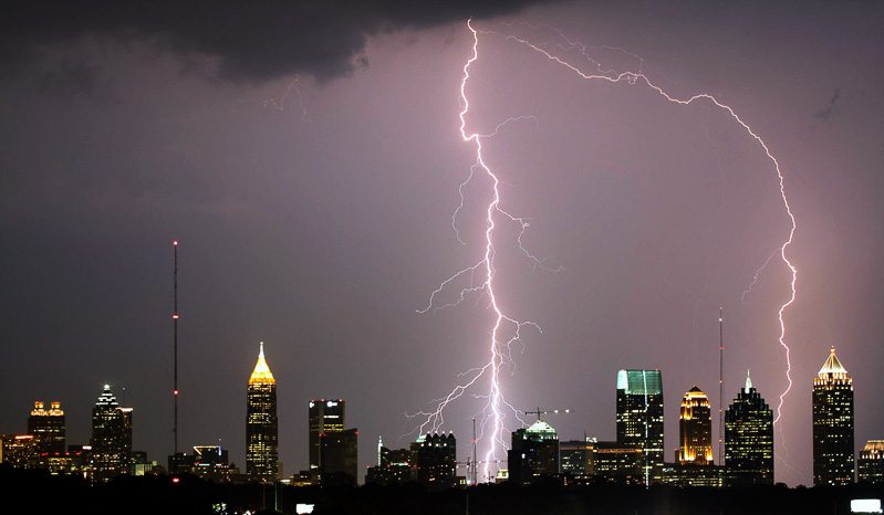 Atlanta-Lightning-Strike