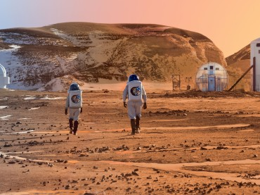 How Do You Construct A Building On Mars?