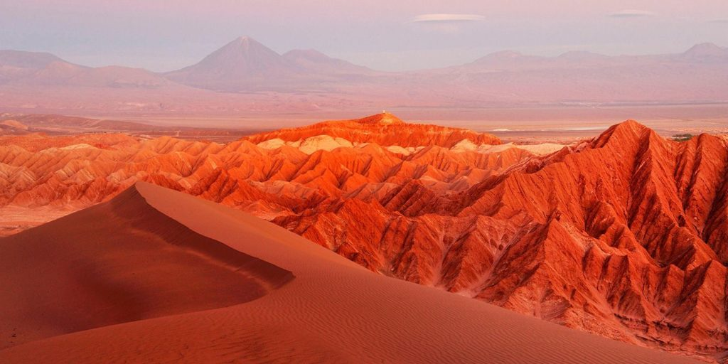 Reddish-dunes-and-hills-in-the-Moon-Valley-Atacama-Desert-Chile