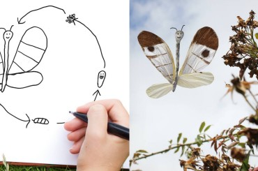 Talented Dad Turns His Son's Drawings Into Reality … And the Result Is Hilarious!