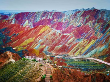 Rainbow Rocks – Danxia, China