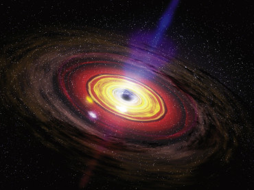 Black Holes Gush Out Planet-Sized Balls Of Gas