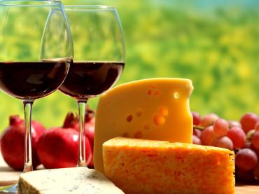 Cheese Makes Wine Taste Better
