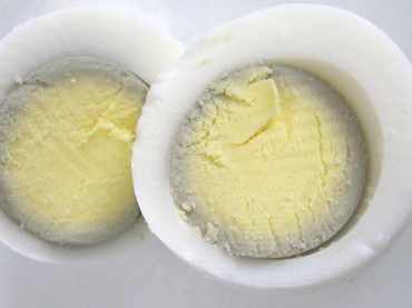 Why Do Hard-Boiled Eggs Sometimes Get a Grey Ring Around the Yolk?