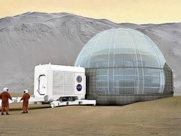 Reinventing the Igloo on Mars