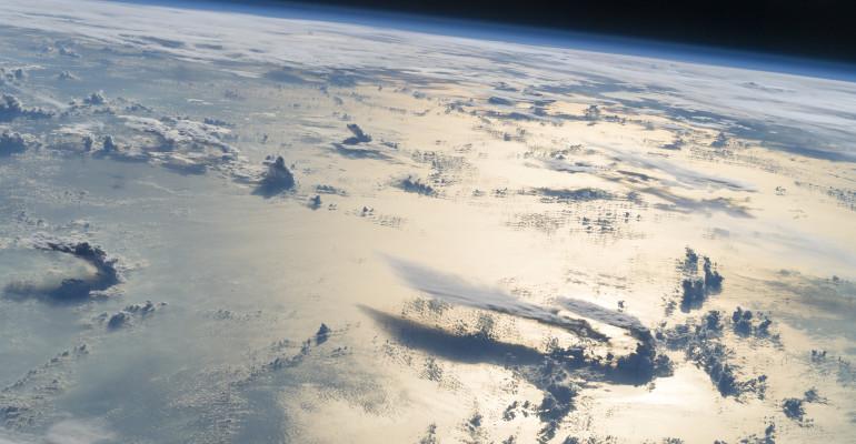 Cloudscape Over the Philippine Sea
