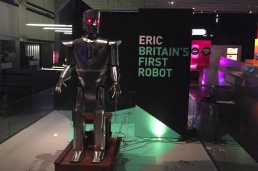 Meet Eric – UK's First Robot