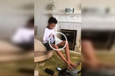 This Boy Is Not Only a Guitar Hero, He's a Every Day Hero