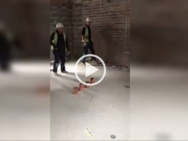 Some Plumbers Have Fun At Work… Wait For It!