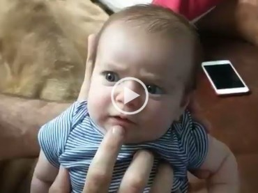 Dad Takes Babysitting To The Ultimate Level!