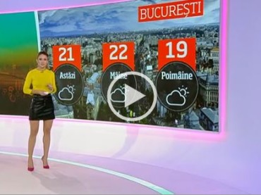 It's Always Hot In Romania When You're Watching This Weather Presenter