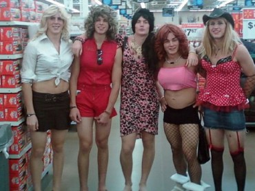 23 People Going Crazy at Walmart This Halloween