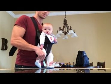 Dad Is The Best Dance Instructor for His Baby