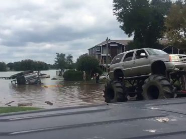 These Men Using Their Monster Truck to Save The National Guard