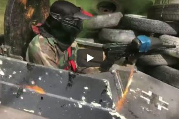 Paintball with Tanks Is The New National Sport!