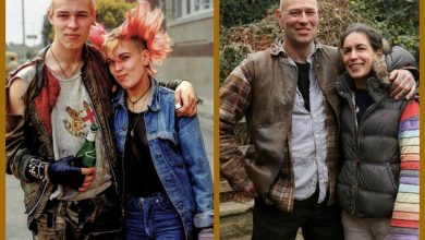 """Then and Now"" Photos of People After 30+ Years"